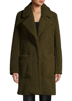 French Connection Oversized Faux Fur Coat
