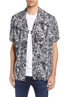 French Connection Paiku Palm Short Sleeve Shirt