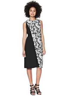 French Connection Paisley Party Crepe Dress