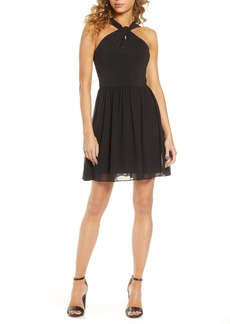 French Connection Panthea Halter Dress