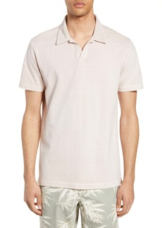 French Connection Parched Johnny Collar Piqué Polo