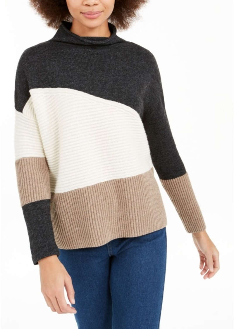 French Connection Patchwork Sweater
