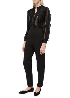 88ac99dd5b French Connection French Connection Patricia Lace Long Sleeve Jumpsuit Now   186.00