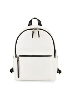 French Connection Perry Faux Leather Backpack