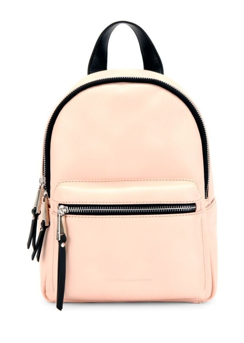 1369e625146b French Connection French Connection Perry Faux Leather Mini Backpack ...