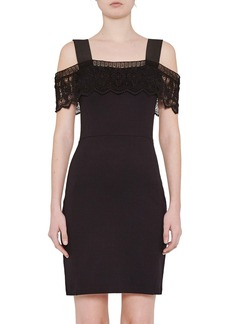 French Connection 'Petra' Lace Trim Body-Con Dress