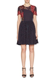 French Connection Phoebe Fit & Flare Dress