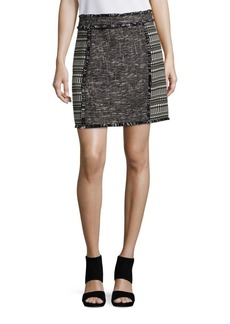 French Connection Pixel Mix Tweed Skirt
