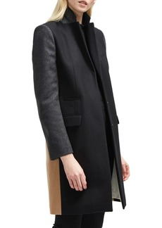 French Connection Platform Colorblock Coat