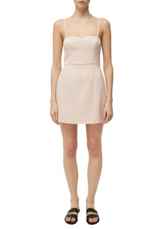 French Connection Polka Dot A-Line Dress