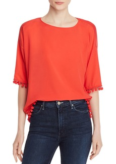 FRENCH CONNECTION Pom Pom Polly Top