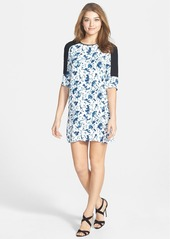 French Connection 'Porcelain Sheen' Shift Dress