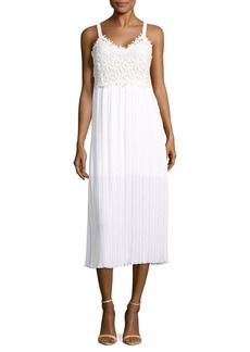 French Connection Posy Lace Midi Dress