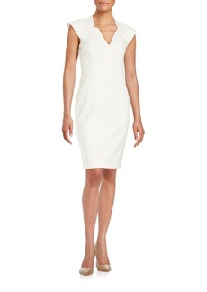 French Connection Princess-Seamed Sheath Dress