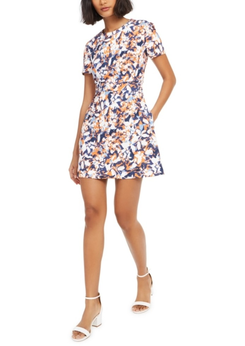 French Connection Printed A-Line Dress