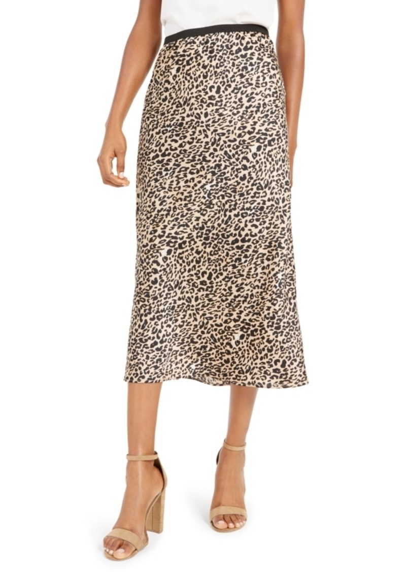 French Connection Printed Slip Skirt