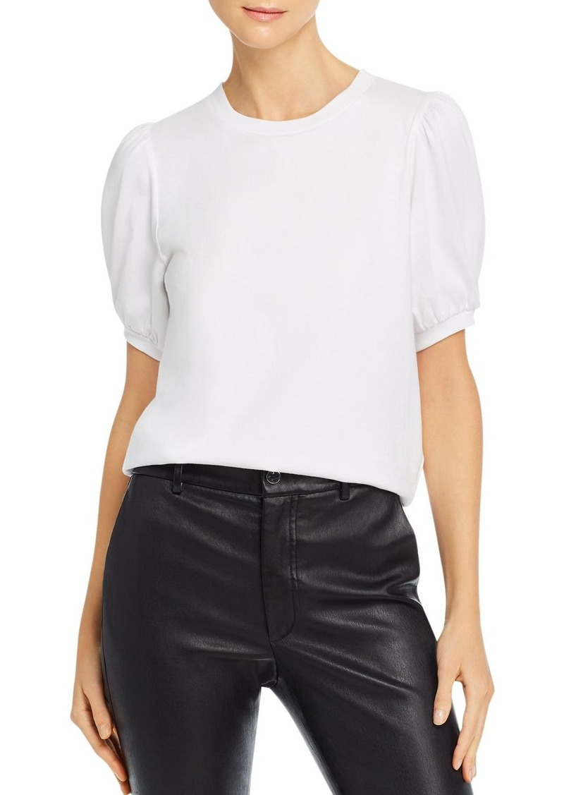 FRENCH CONNECTION Puff Sleeve Jersey Top