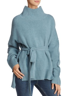 FRENCH CONNECTION Reba Belted Sweater