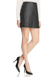 FRENCH CONNECTION Rebound Lace-Up Skirt - 100% Bloomingdale's Exclusive