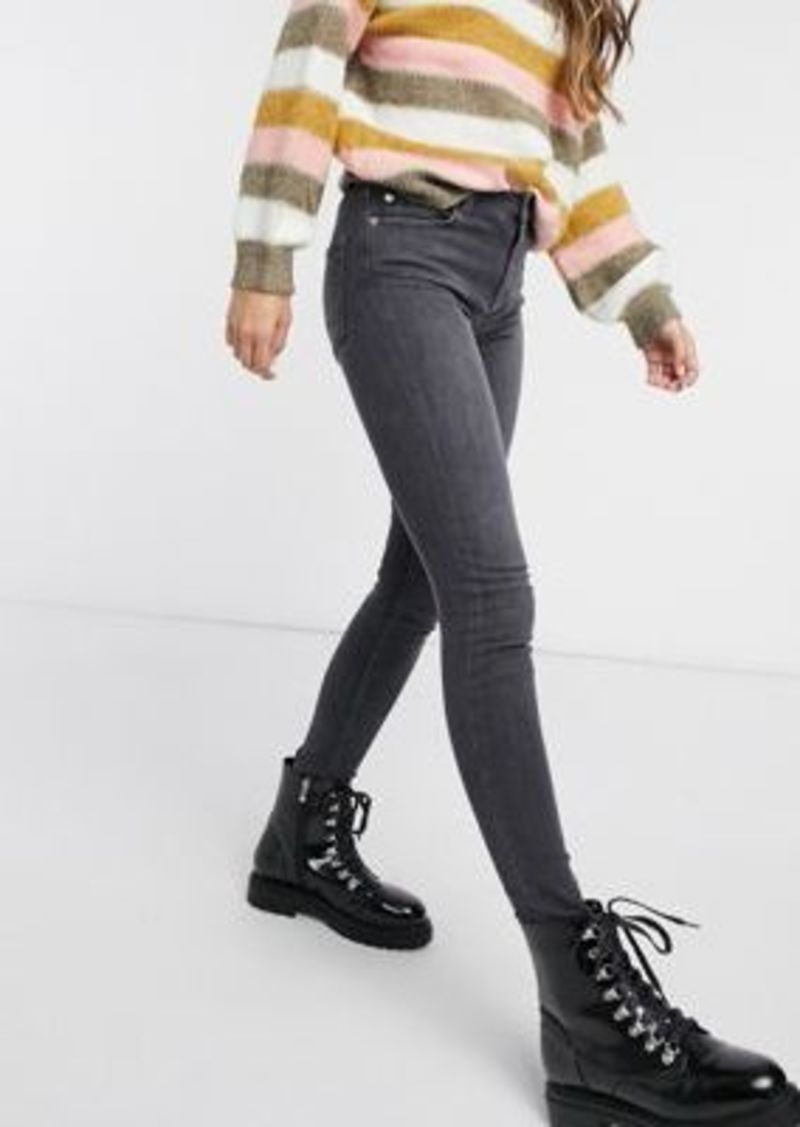French Connection Rebound skinny jeans in charcoal