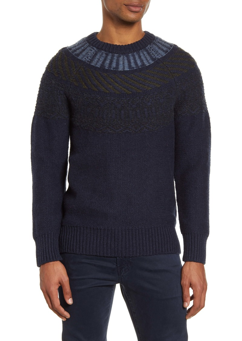 French Connection Regular Fit Fair Isle Sweater