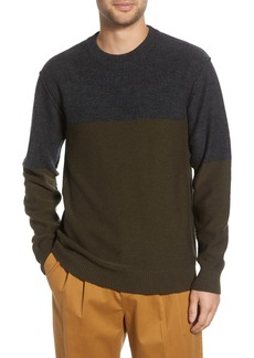 French Connection Regular Fit Felted Wool Blend Sweater