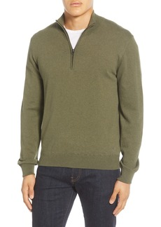French Connection Regular Fit Half Zip Sweater