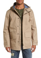 French Connection Regular Fit Hooded Rain Jacket