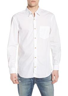 French Connection Regular Fit Poplin Sport Shirt