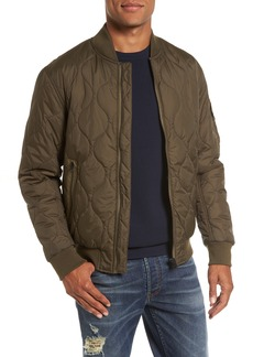 French Connection Regular Fit Quilted Bomber Jacket