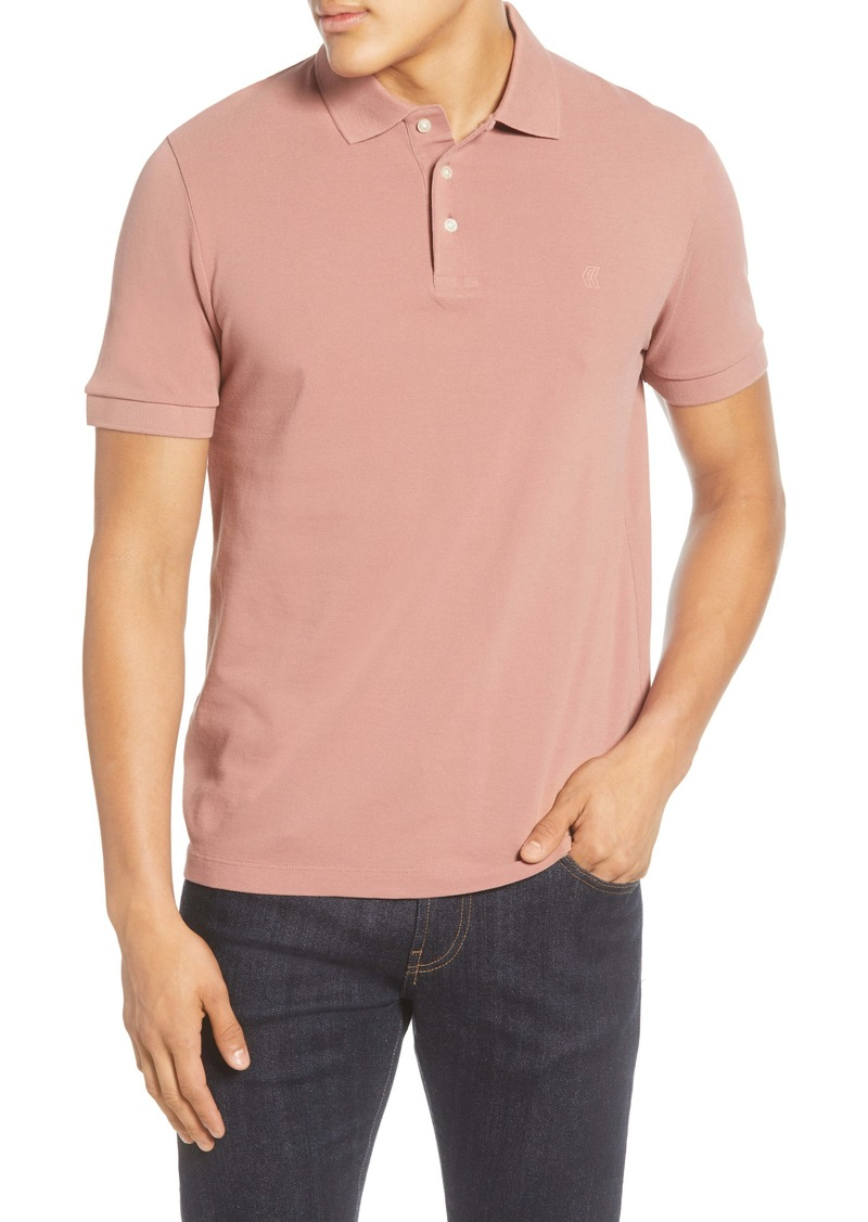 French Connection Regular Fit Solid Piqué Polo