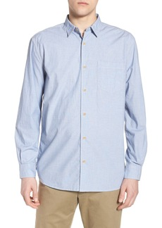 French Connection Regular Fit Solid Sport Shirt