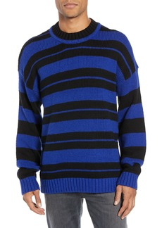 French Connection Regular Fit Varsity Stripe Sweater
