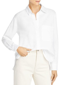 FRENCH CONNECTION Relaxed Oxford Cotton Button-Up Shirt