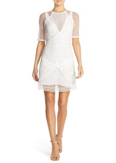 French Connection 'Rene' Lace Sheath Dress