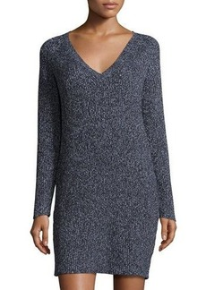 French Connection Rib-Knit Sweater Dress