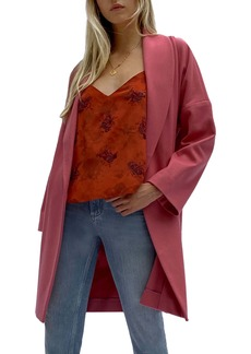 French Connection Ricio Wool & Cashmere Blend Coat