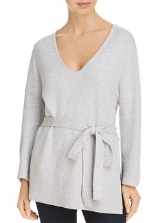 French Connection Rosa Belted V-Neck Sweater
