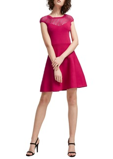 French Connection Rose Fit & Flare Dress