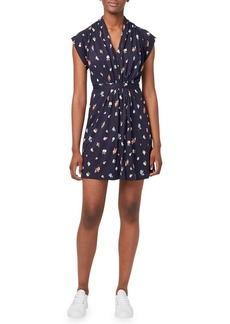 French Connection Roseau Meadow Mini Wrap Dress