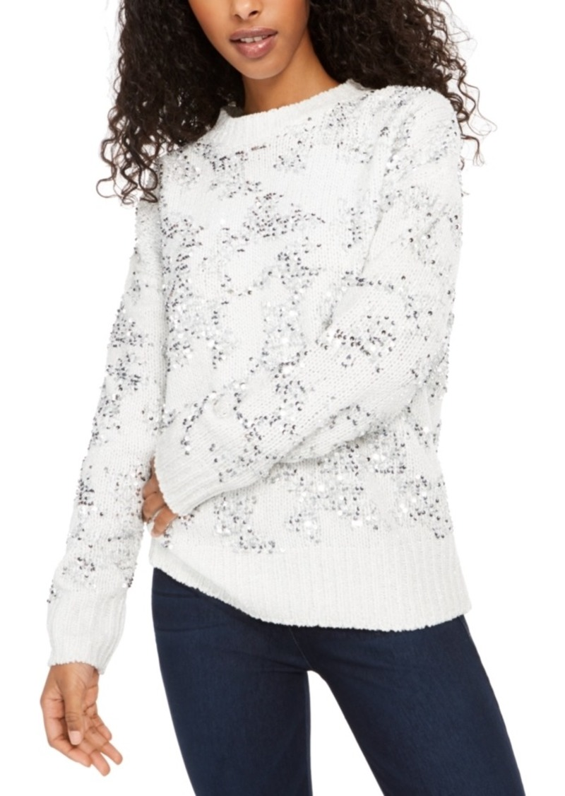 French Connection Rosemary Sequin Sweater