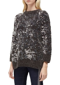 French Connection Rosemary Sequined Sweater