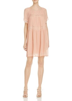 FRENCH CONNECTION Rosie Lace-Inset Dress