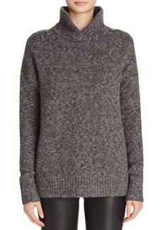 FRENCH CONNECTION RSVP Now Split Neck Sweater