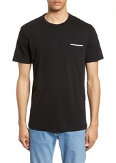 French Connection Rubber Tipping Pocket T-Shirt
