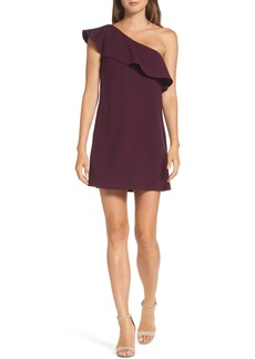 French Connection Ruffle One-Shoulder Dress