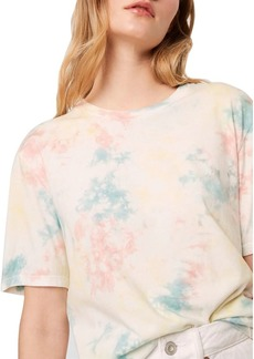 FRENCH CONNECTION Sade Cotton Tie Dyed T-Shirt