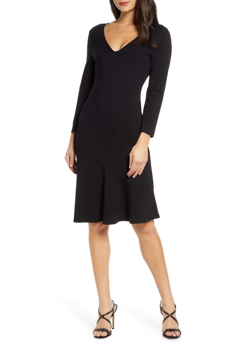 French Connection Sancia Lula Fit & Flare Dress