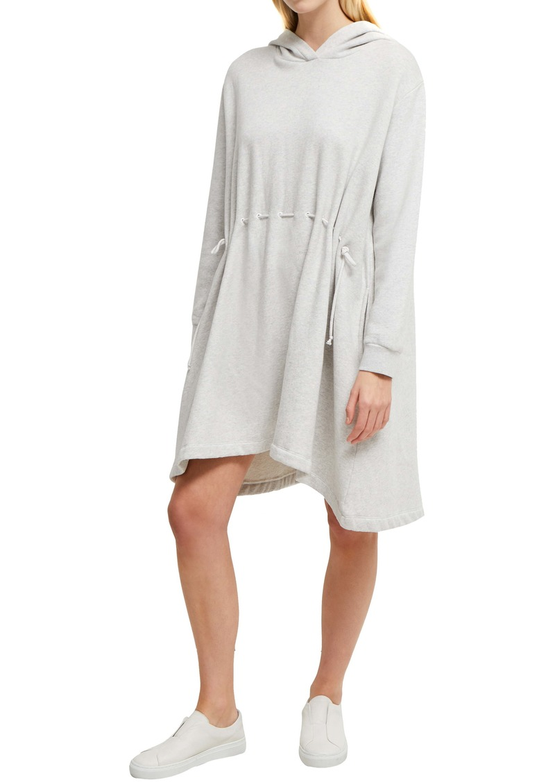 French Connection Santino Hoodie Fleece Tunic Dress
