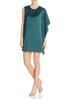 FRENCH CONNECTION Sasha Satin Asymmetric Dress